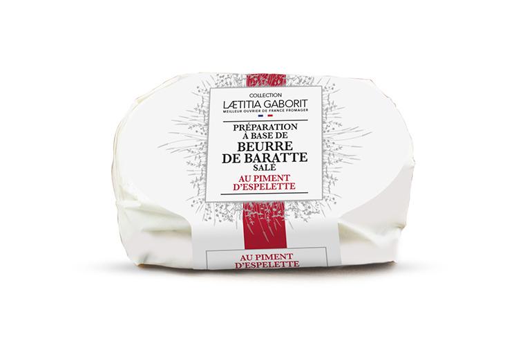 Collection Laetitia Gaborit : beurre aromatisé