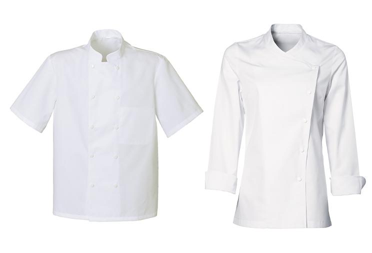 Les vestes de cuisine