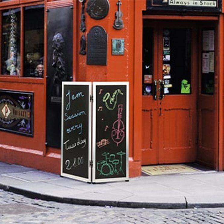 Les menus, les cartes et les affichages de restaurant