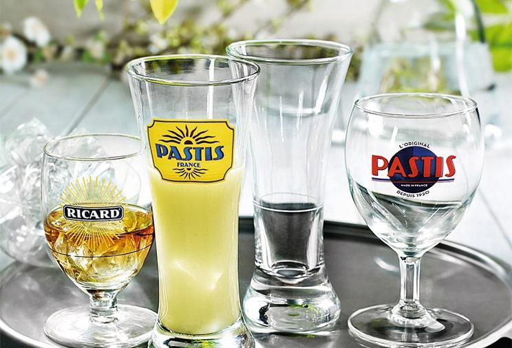 Les verres apéritifs et digestifs