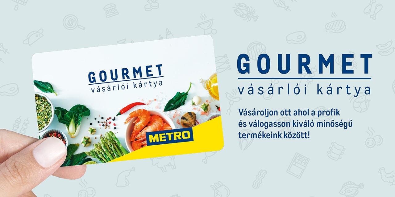 Igényeljen Gourmet Kártyát!