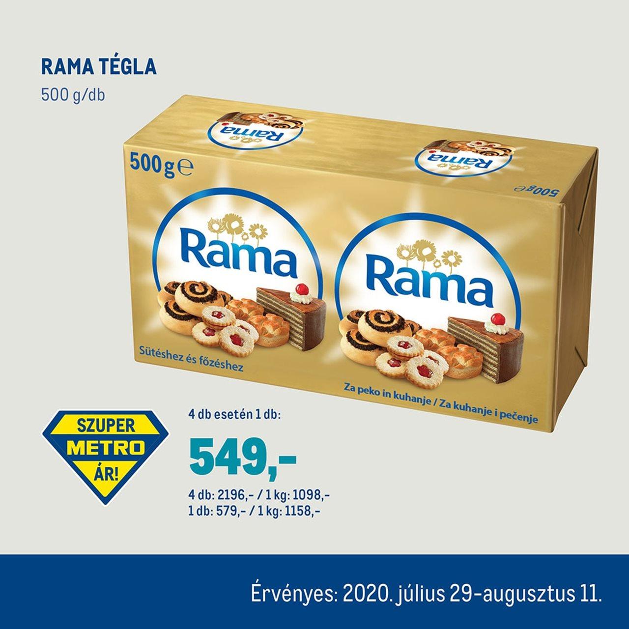 Rama tégla