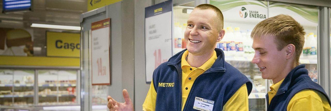 Angajari Metro - locuri de munca in magazinele METRO