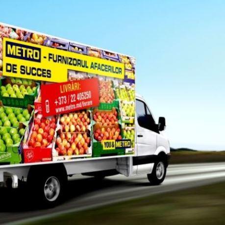 livrare persoane juridice metro moldova