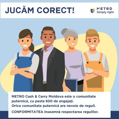 Conformitatea la Metro - respectam regulile