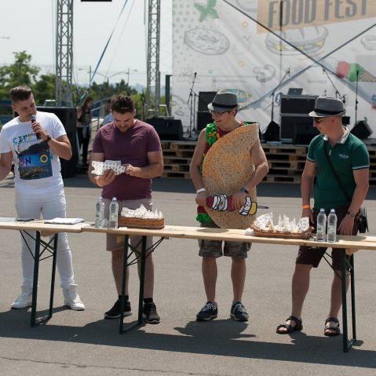 metro food fest distractie in chisinau