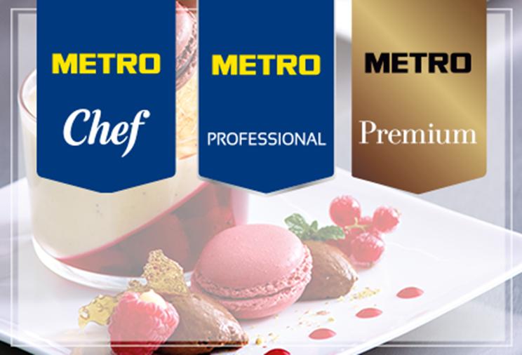 marci proprii metro metro chef metro professional metro premium
