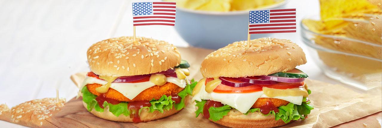 Cheesebirger american