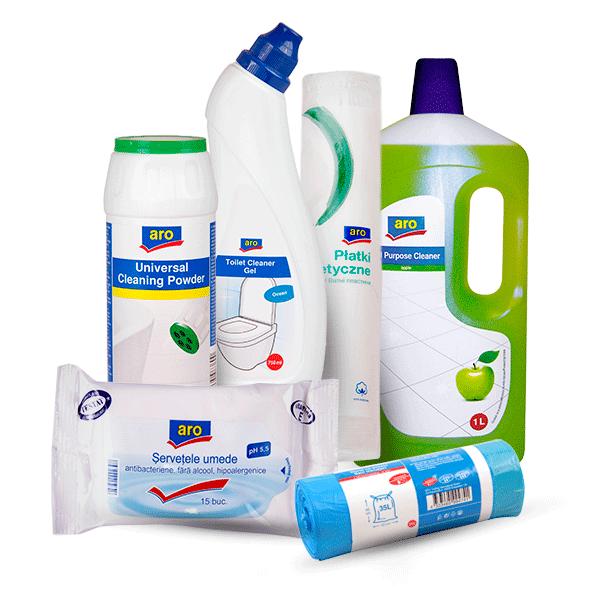 Aro detergenti si saci de gunoi