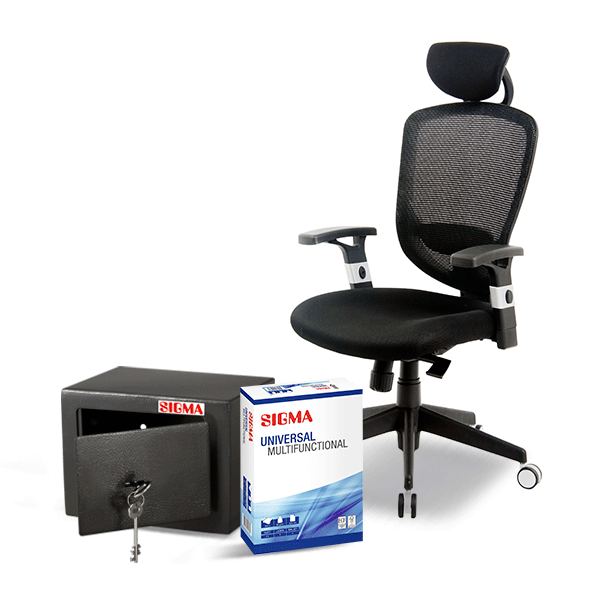 produse sigma - scaun birou sigma moldova, scaun directorial sigma, hartie xerox, accesorii birou ieftin