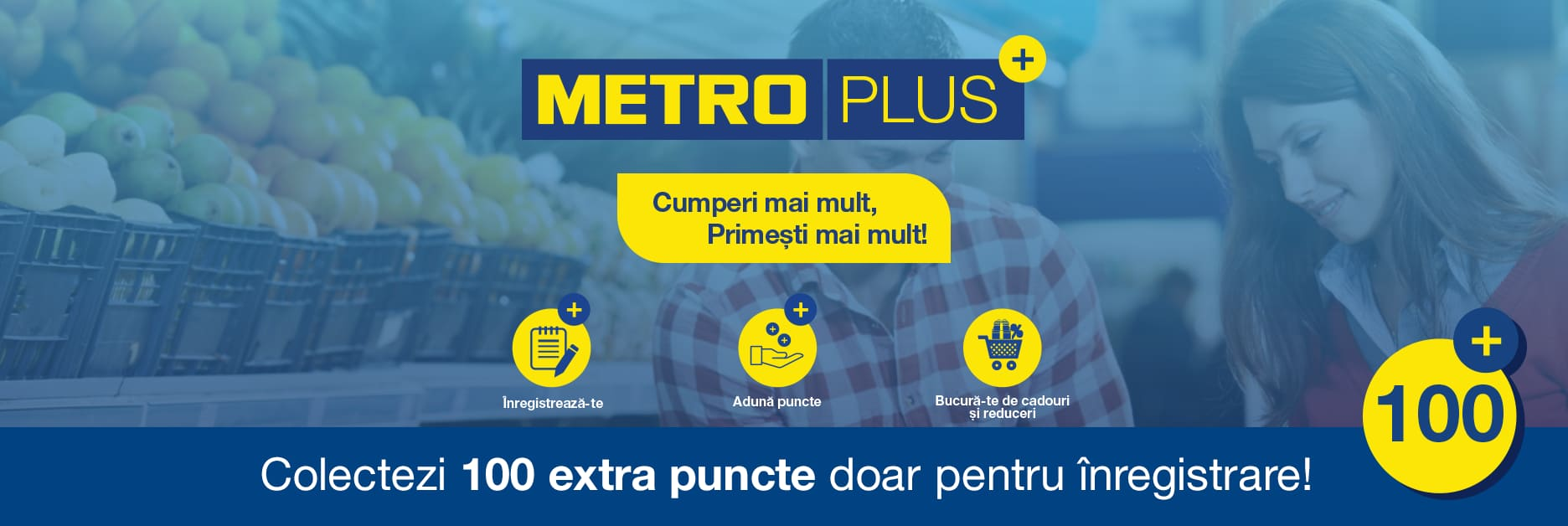 Metro Plus inregistrare