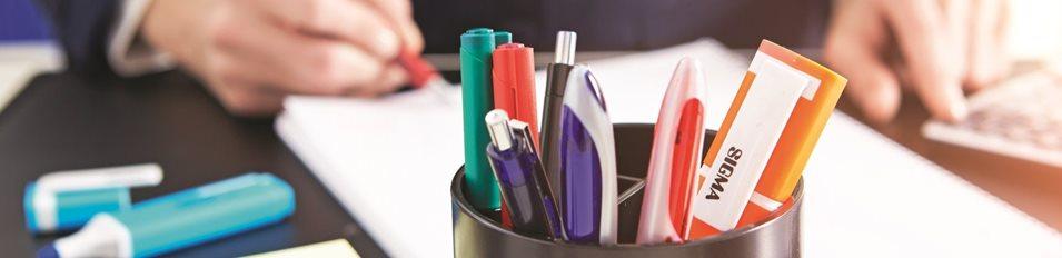 produse sigma pentru birou pe masa, pixuri, markere, hartie pentru copiator - rechizite de birou chisinau