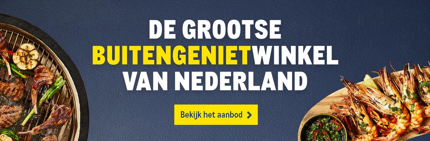 De Grootse Buitengenietwinkel van Nederland