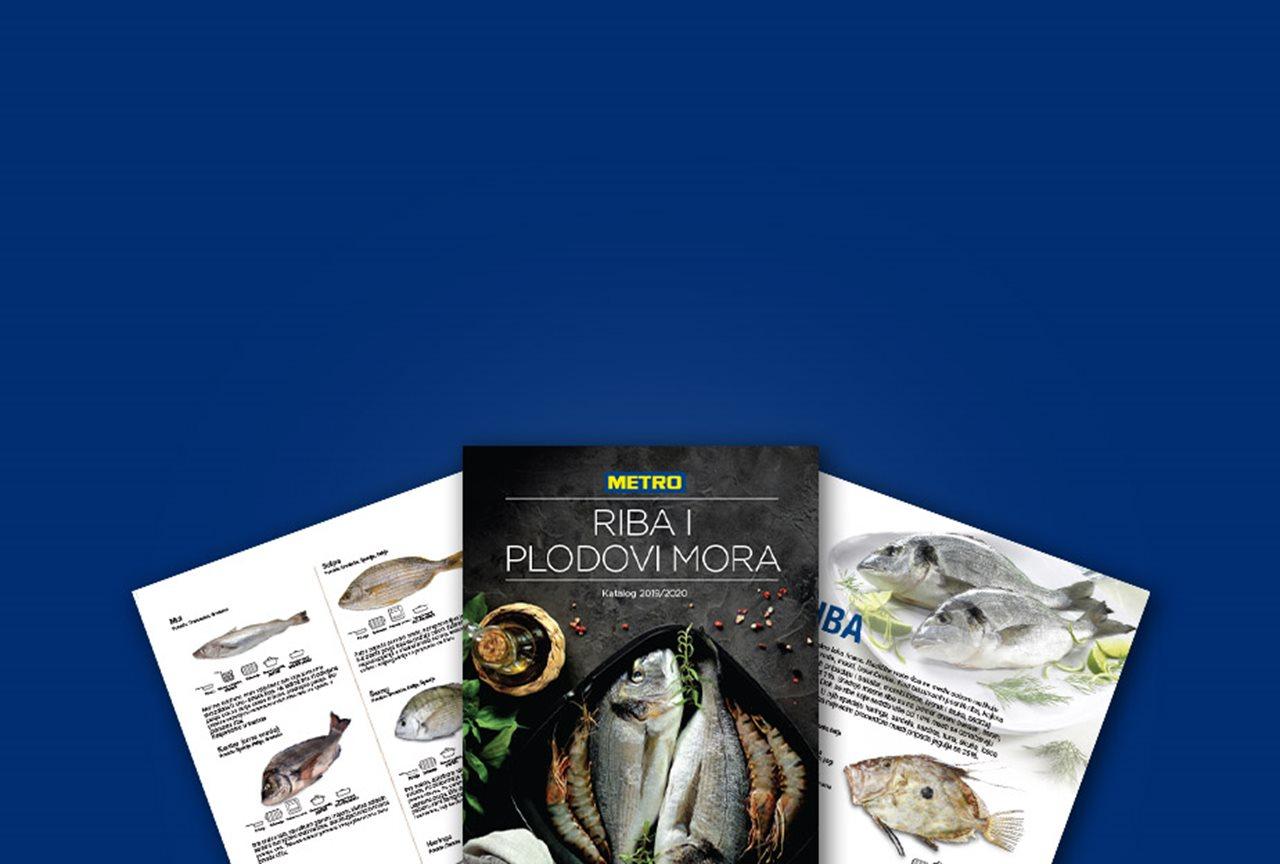 Riba i plodovi mora katalog