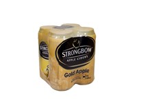 Strongbow cider Gold Apple 4x440 ml PLECH
