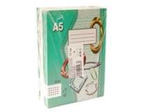 Zošit školský A5 564/60listov štvorčekový Papírny Brno 10ks