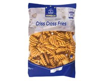 Horeca Select Criss Cross Fries mraz. 1x2,5 kg