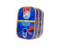 EVA Sardinky pikantné 3x115 g