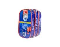 EVA Sardinky paradajková omáčka 3x115 g