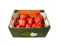 Paprika červená 80+ I. čerstvá 1x5 kg kartón