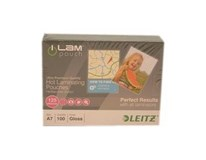 Kapsy laminovacie A7 125mic LEITZ 100ks