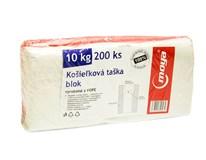 Tašky mikroténové 10kg Moya 2x100ks