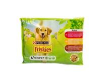 Friskies kapsičky adult hovädzie/kuracie/jahňacie 1x100 g