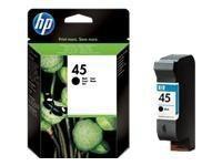 Cartridge N45 black 42ml HP 1ks
