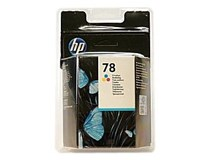 Cartridge N78 small tricolour HP 1ks