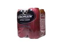 Strongbow cider Dark Fruit 4x440 ml PLECH