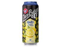 Zlatý Bažant pivo nealkoholické radler 0,0° tmavý citrón 6x500 ml PLECH