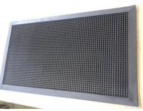 Rohož gumená čierna 35x60 cm BILOXXI 1ks