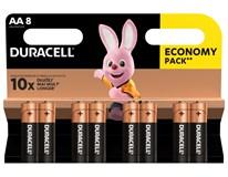 Batérie Basic AA Duracell 8ks