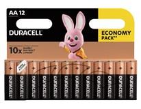 Batérie 1500 AA Duracell basic 12ks