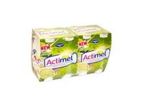 Danone Actimel nápoj limetka a yuzu chlad. 8x100 ml