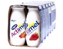Danone Actimel nápoj jahoda/multifruit chlad. 12x100 ml