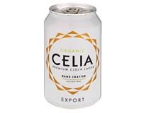 Celia Organic pivo bezlepkové 11,5° ležiak 1x330 ml PLECH