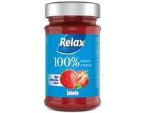 Relax Džem 100% z ovocia jahoda 1x220 g