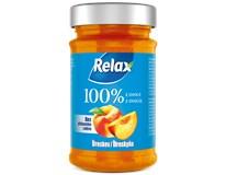 Relax Džem 100% z ovocia broskyňa 1x220 g