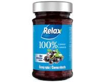 Relax Džem 100% z ovocia čierna ríbezľa 1x220 g