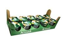 Danone Activia Cereálie jogurt vlašské orechy a ovsené vločky chlad. 10x125 g