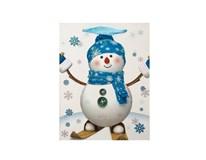 Taška na darčeky Vianočná 23x18cm Quickpack 1ks