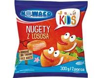 Nowaco Kids obalené nugetky z lososa mraz. 1x300 g