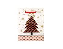 Taška na darčeky Vianočná S-220261 1ks