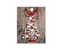 Taška na darčeky Vianočná M-208955 1ks