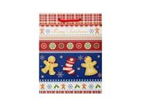 Taška na darčeky Vianočná M-220265 1ks