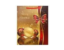 Taška na darčeky Vianočná L-208960 1ks
