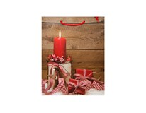 Taška na darčeky Vianočná L-208961 1ks