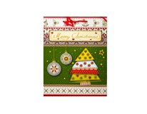 Taška na darčeky Vianočná L-208962 1ks