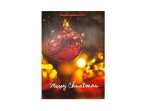 Taška na darčeky Vianočná XL-220270 1ks